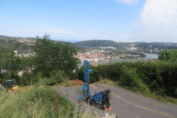 Sondage au pénétromètre dynamique lourd pour réalisation d'une villa individuelle sur la commune de Vienne